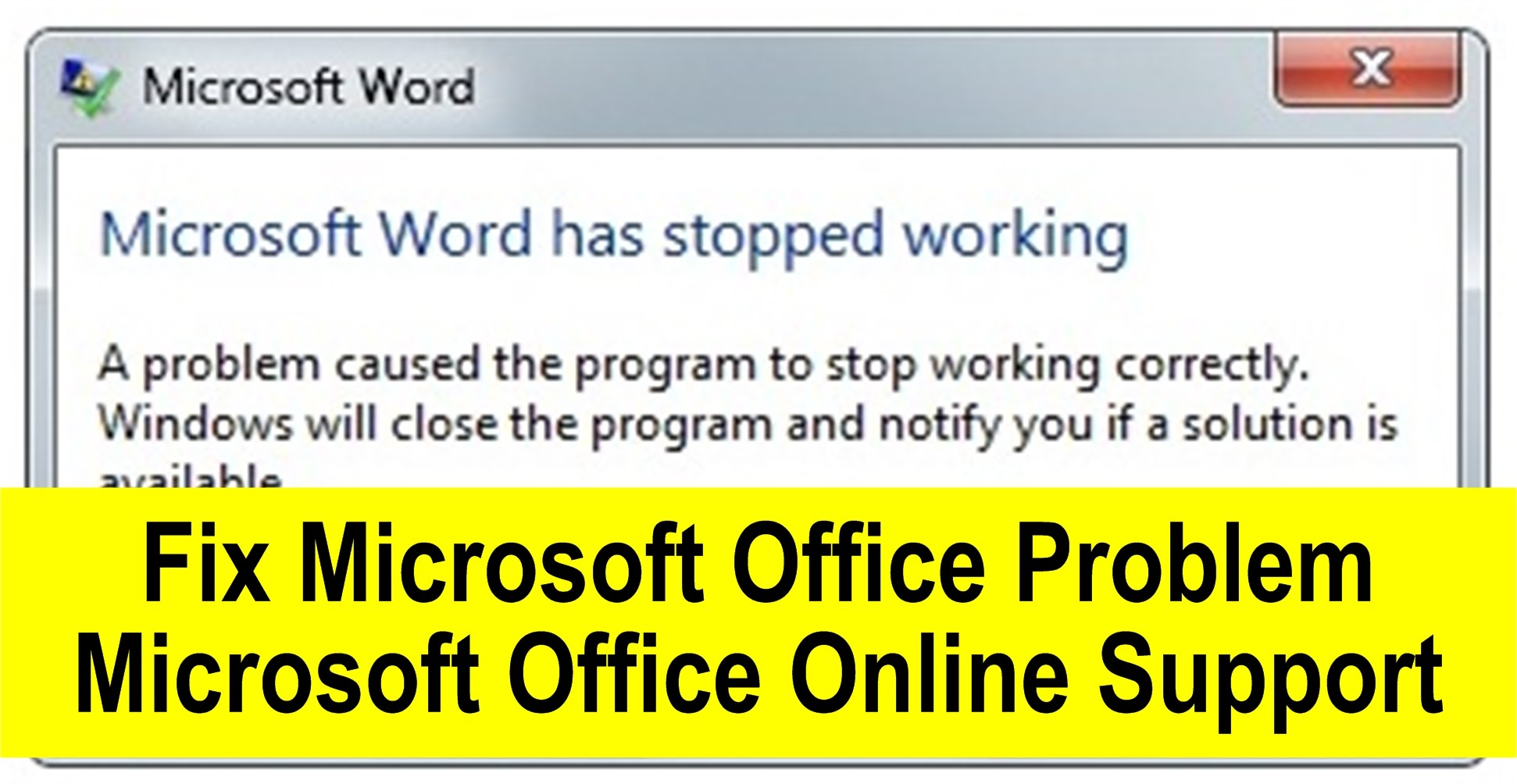 How to Fix Outlook Not Working Problem - Buzzmeweb