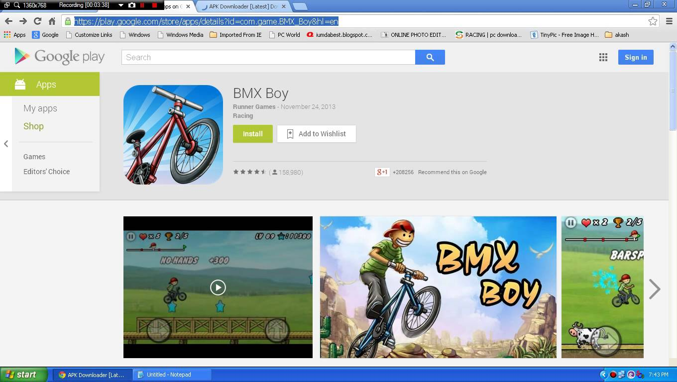 how to install play store apps in pc