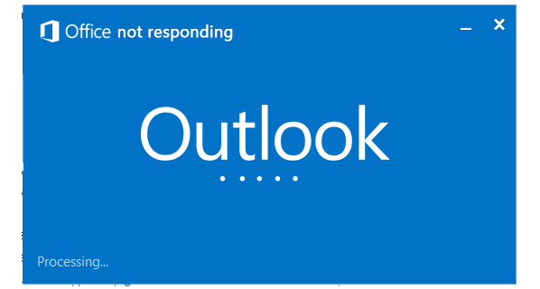 Help For Outlook Not Responding & How to Fix Outlook Not Responding